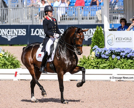 Charlotte Dujardin & Mount St. John Freestyle Beat Isabell Werth & Emilio in Lyon World Cup Grand Prix